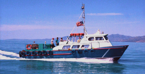 Transport vessel.