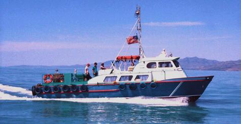 Transport vessel.